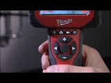 MILWAUKEE M12 INSPECTION CAMERA WITH ADDED VISUAL RECORDING AND AUDIO COMMENTARY OVERLAY FACILITY